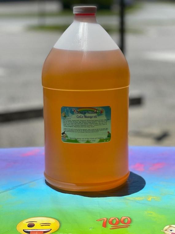 Kids Gallon Conditioner For Resale mango Gum Scent-White Label-Wholesale-Private Label Start Your Own Business