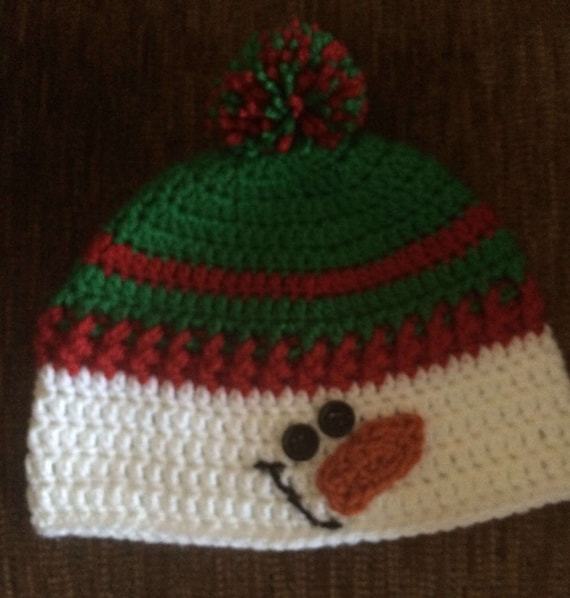 Snowman Hat Toddler Snowman Hat Snowman Hat for child Green  240f6a79ae73