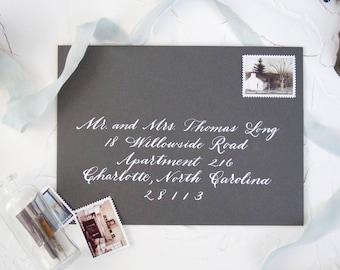 Calligraphy Envelope, Wedding Calligraphy, Envelope Addressing, Calligraphy, Wedding Envelopes, Wedding Envelope, Custom Envelope