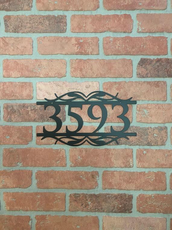 Custom Metal Address Number Sign