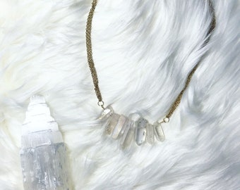 Crystal Statement Necklace- Multiple Variations