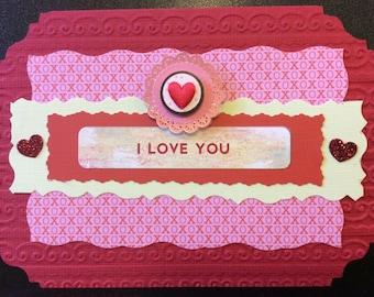 Homemade Card - Valentine