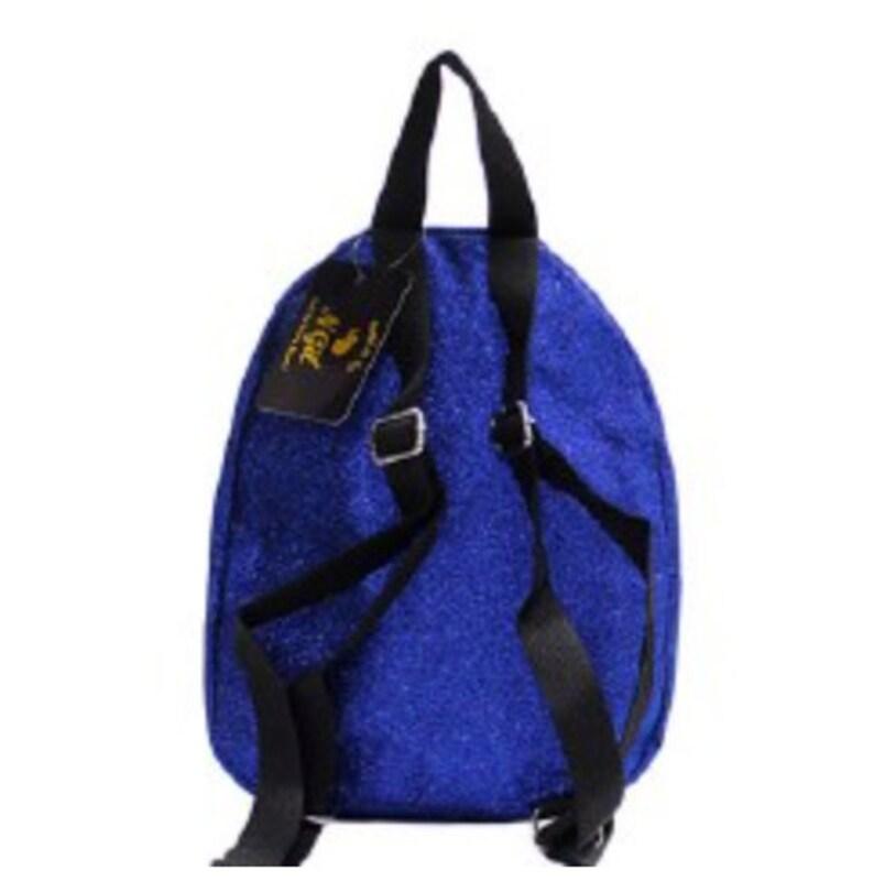 Small Personalized Glitter Backpack Girls Backpack School Backpack Bookbag Small Backpack