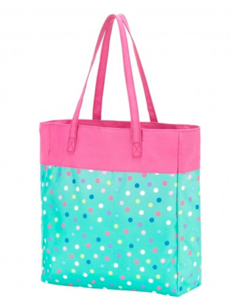 Overnight Tote Printed Tote Embroidered Tote Lottie Printed Tote Monogrammed Tote Gift Personalized Tote Girls Tote Sports Bag