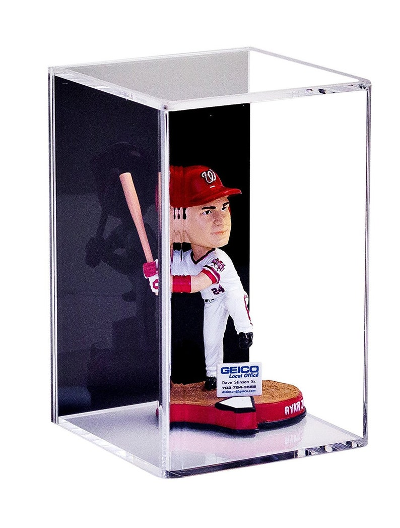 9a2e0fff229 Deluxe Acrylic Display Case for Figurine Miniature Doll
