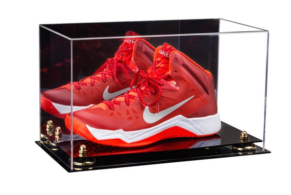 Acrylic Large Shoe Display Case For, Shoe Glass Case