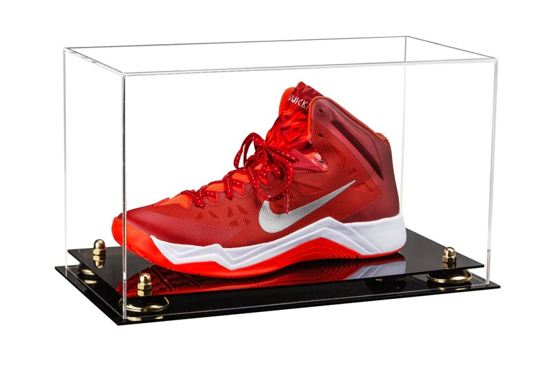 5de0c2d5c1f Deluxe Clear Acrylic Large Shoe Display Case for Basketball image 0 ...