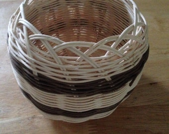 """Double wall Cherokee Basket (1)    5"""" round, 5"""" tall"""