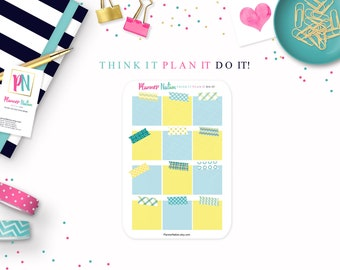 Sticky Note Planner Stickers - Mini Personal Planner Stickers