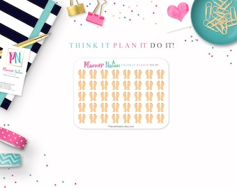 Pedicure Planner Stickers- Mini Personal Planner Stickers - Choice of Skin Tone for Erin Condren, Happy Planner, Filofax, KikkiK and more!
