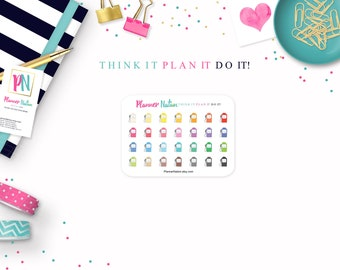 Gas Pump Planner Stickers- Mini Personal Planner Stickers for Erin Condren, Happy Planner, Filofax, KikkiK and more!