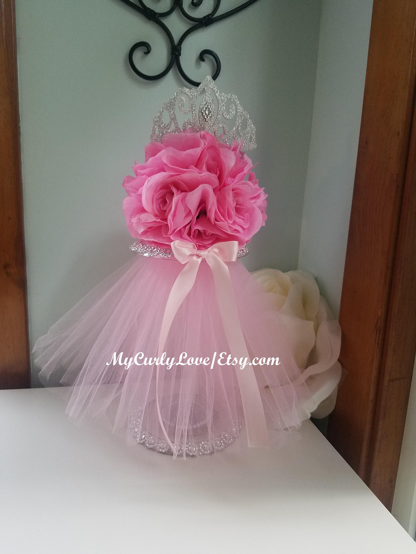 PRINCESS Baby Shower Centerpiece Kissing Ball Princess