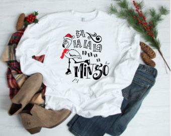 16eeac77b Fa la la mingo Flamingo Christmas Shirt