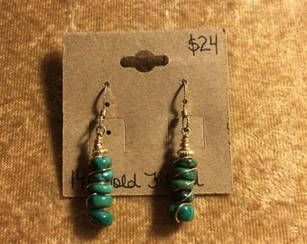 Arizona Turqouise Earrings