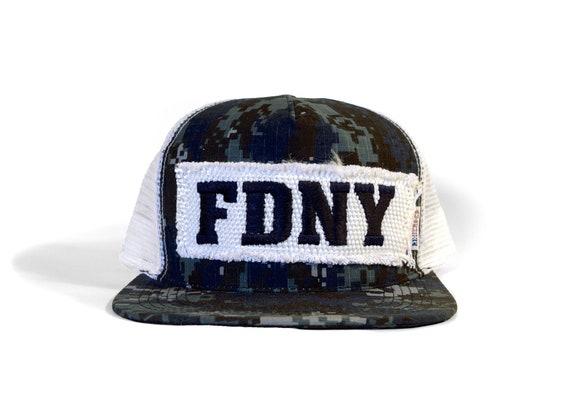 042847a354f FDNY Digi Camo Trucker Reheroed