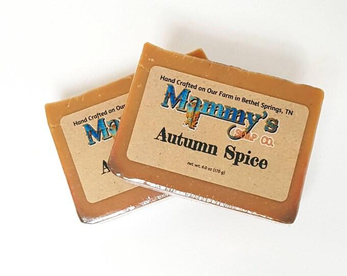 Handmade Soap - Autumn Spice