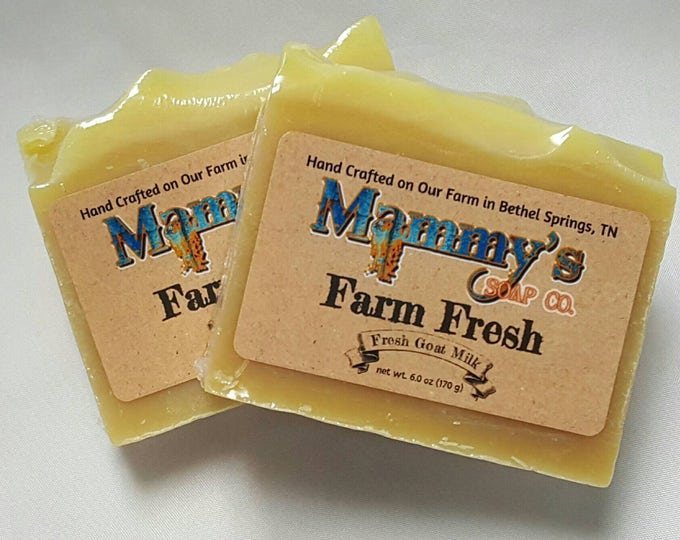 Handmade Goat Milk Soap - Farm Fresh