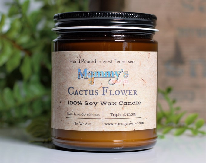 Soy Candles, Hand Poured