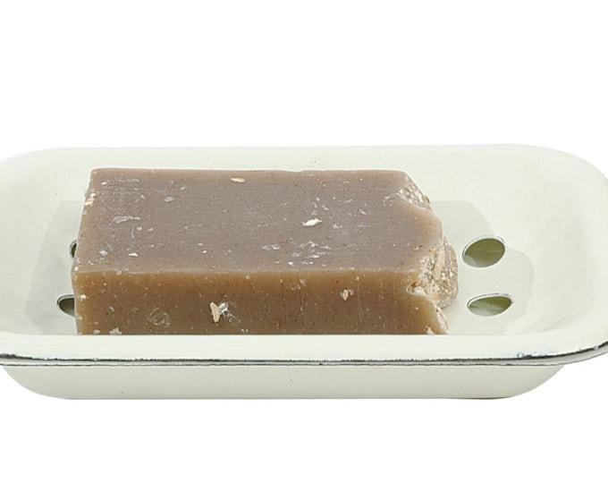 Soap Dish, Enameled, Vintage