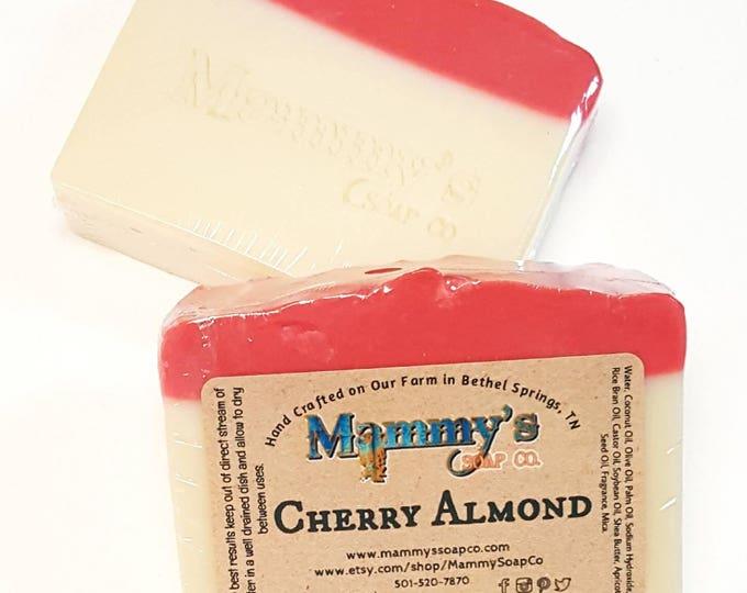 Handmade Soap - Goat Milk, Cherry Almond
