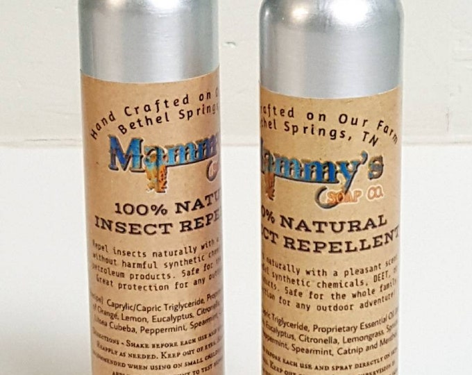 Handmade Insect Repellent, All Natural