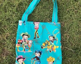 0b3ce2cff2 Fun Betty Boop Tote Bag