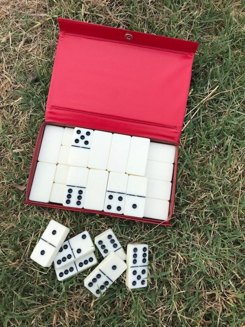Gift Cardinal Dominoes Table Games Playtime Vintage Domino by Cardinal