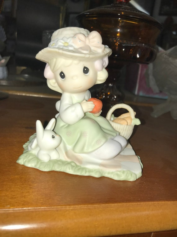 Precious Moments We're So Happy You Are Here, Spring Celebration, Vintage Figurine, Decor, Gift