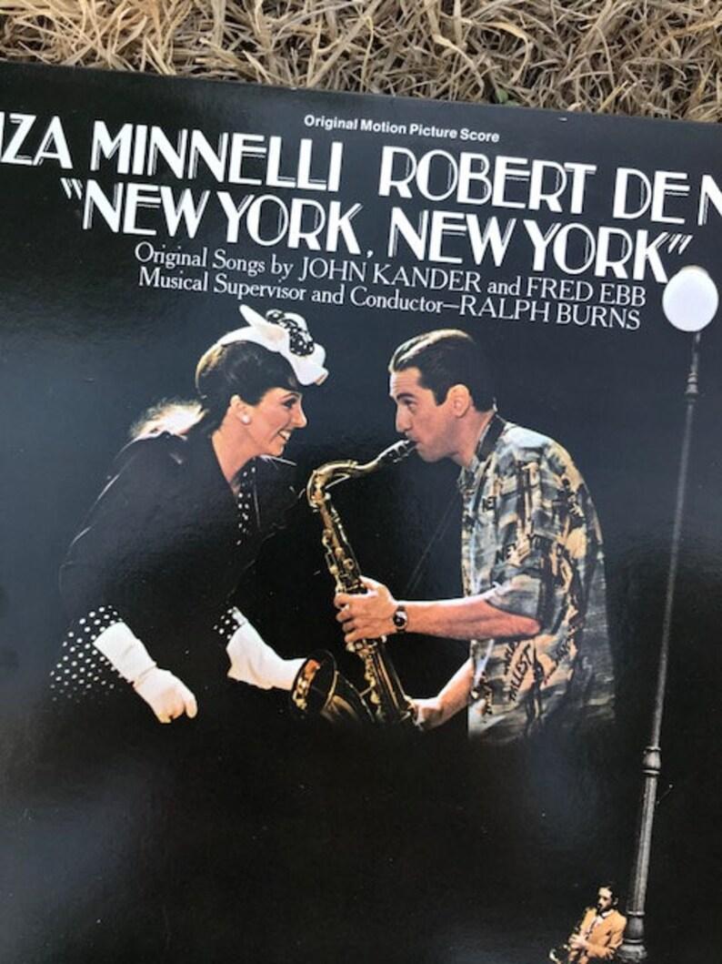 "Liza Minnelli Robert de Niro ""New York New York"", Original Motion Picture  Score, United Artists, Double Album, Vintage Vinyl"