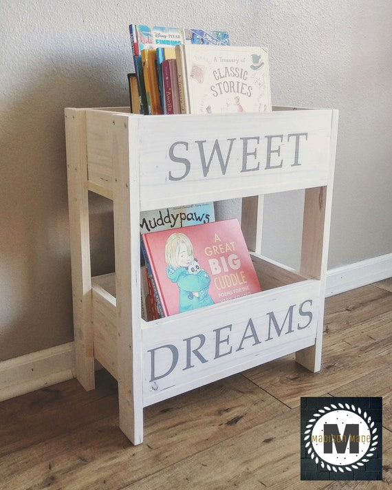 Sweet Dreams Nursery Bookcase