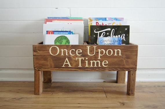 Bookshelf Baby Nursery Bookcase Book Bin Kids Storage Bookcase Book Storage Toy Storage Kids Books Kids Room Storage