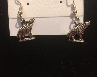 Howling Wolf Earrings