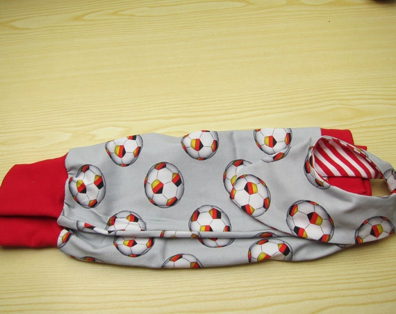 Soccer  WM Fever Baby Bloomers pants with reversible bib set, football, Handmade, Made to Order,