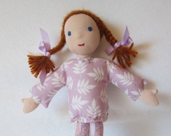 Annabelle Guardian Angel's Doll, soft fabric doll, Waldorf style, handsewn, Angel, Handmade Doll, Get-well doll, Waldorf
