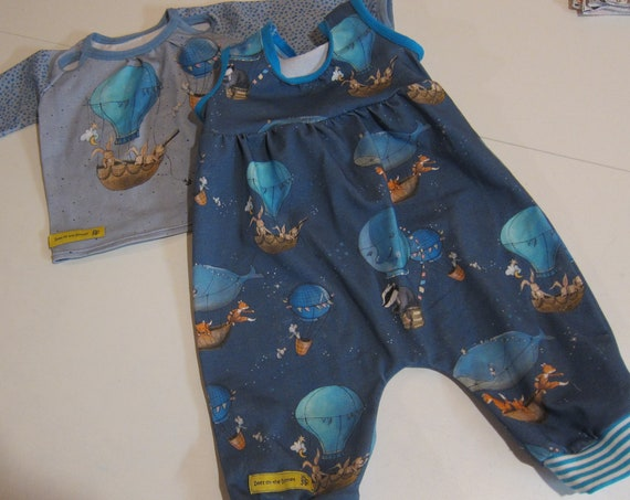 Ecological baby rompers: Up, up and away in sweet motive size in different sizes
