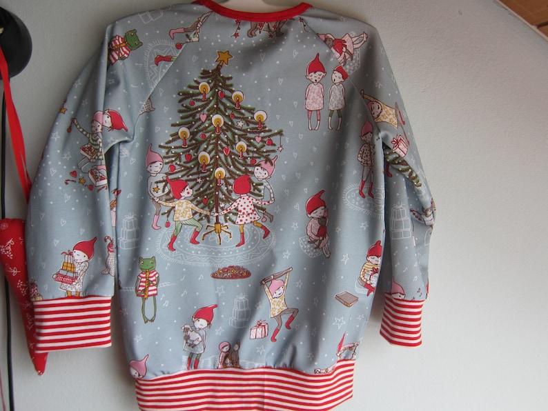 T-shirt long arm organic Christmas Size US 5  104 Winter