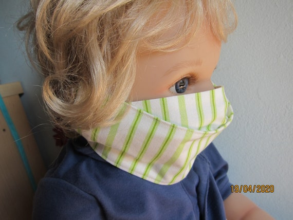 Few left! Mouth and nose masks in three versions made of 2 pieced cotton,  not a medical product