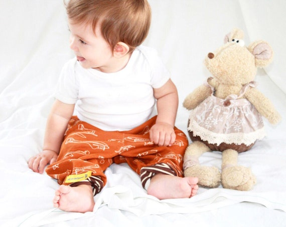 Brown Planes, Baby pants bib set, Aviation motive,  Airplanes, pants and bib, Flyers choice, Made To Order
