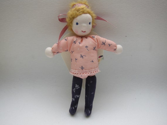 "Angel Doll  named ""Dawn"", Waldorf inspired, doll with wings"