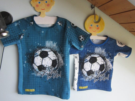 Baby t-shirt Soccer, Football sports t-shirt, Kickers for Life, eco Jersey  2  or 8 years size or to order,