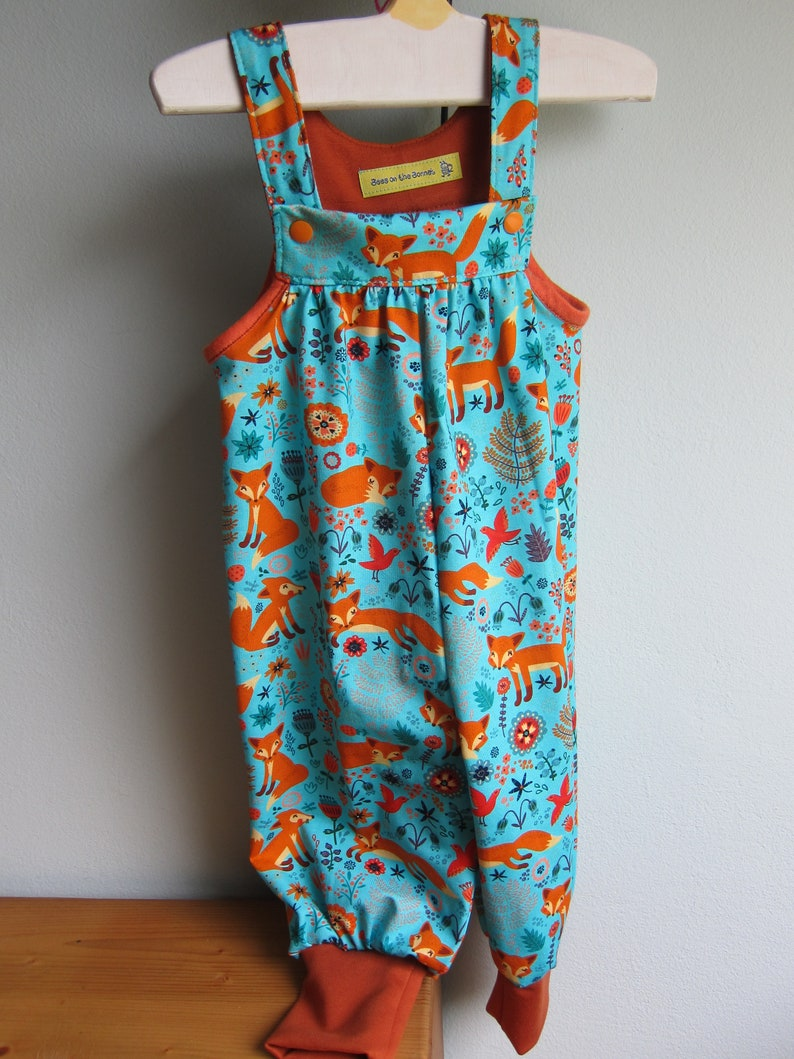 Fox Autumn rompers in size 6-9 mo Jumpsuit Autumn rompers in image 0