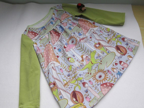 Longarm tunica with fairies and dwarfs jersey dress order size