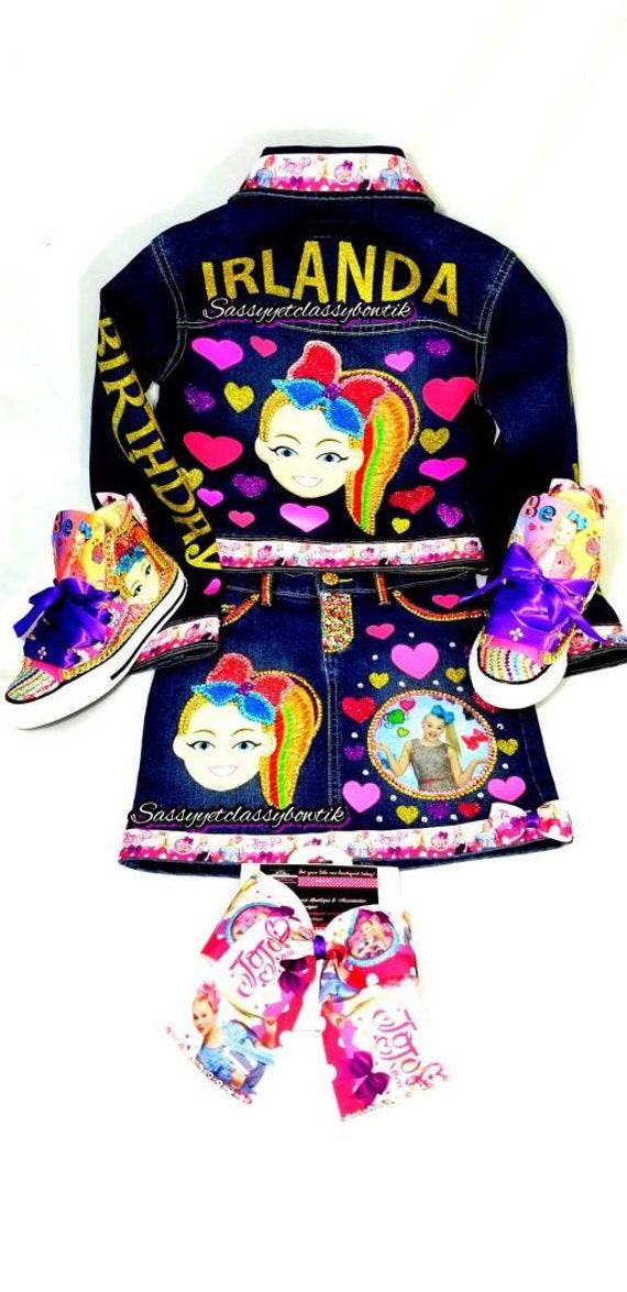 Jojo Siwa Birthday Shirt Shoes 1st