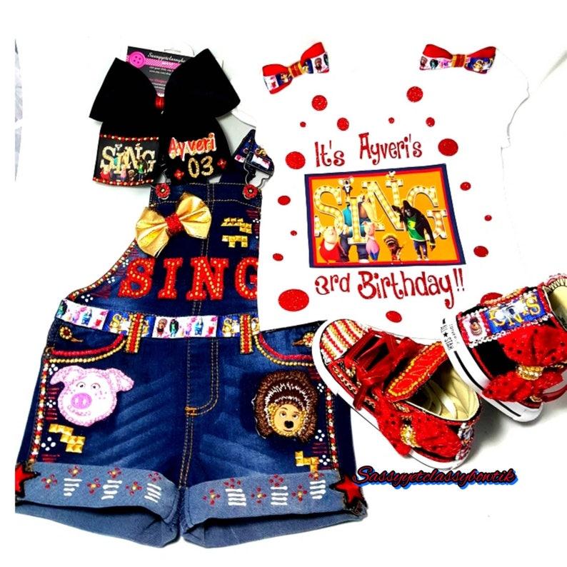 e8fd2433 Sing the movie Sing movie birthday party SING birthday   Etsy