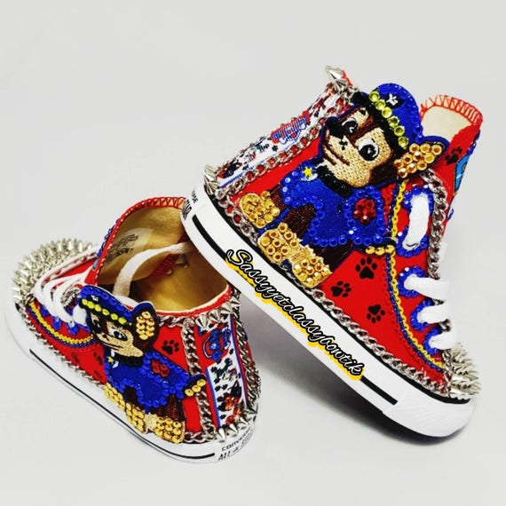 Paw Patrol shoes Toddler Converse Paw