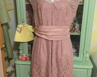 8fbdbc5064f4 Mauve pink dress | Etsy