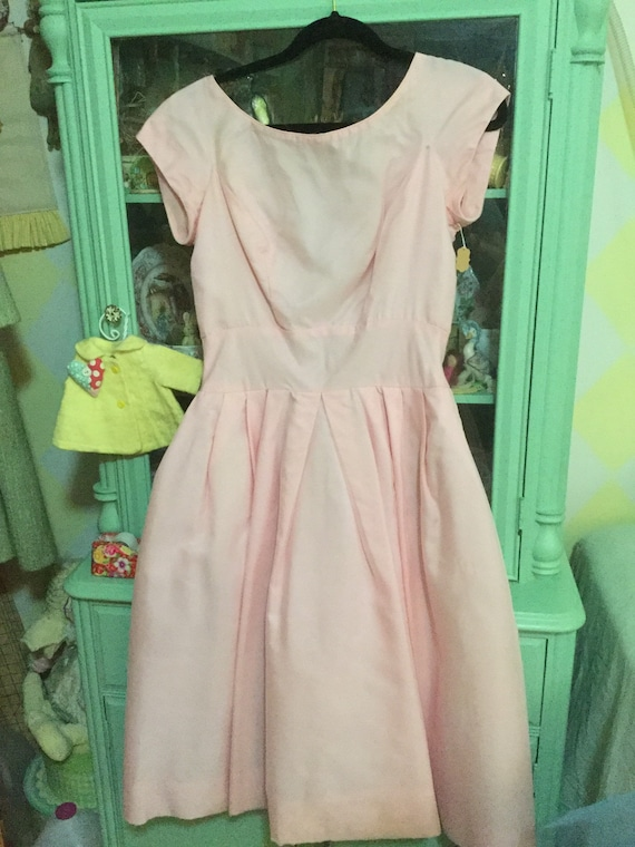 50s Pretty in pink party dress.