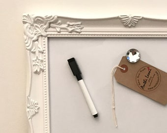 MAGNET BOARD | Small Magnetic Board | Small Dry Erase Board | Small Whiteboard | Small White Board | White Dry Erase Board