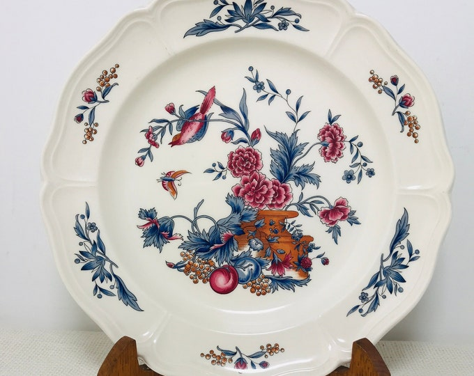 "Wedgwood of Etruria Williamsburg Potpourri 10""  Discontinued Replacement Dinner Plate 