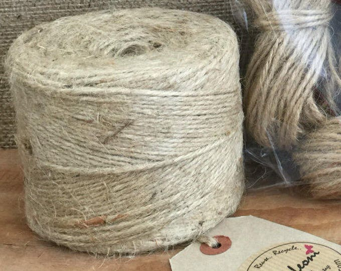Roll of Twine | 3mm Thick Quality Craft Twine | 250m Roll Twine | Garden Twine | Twine | Shabby Chic Twine | Packaging Twine | Rustic Twine